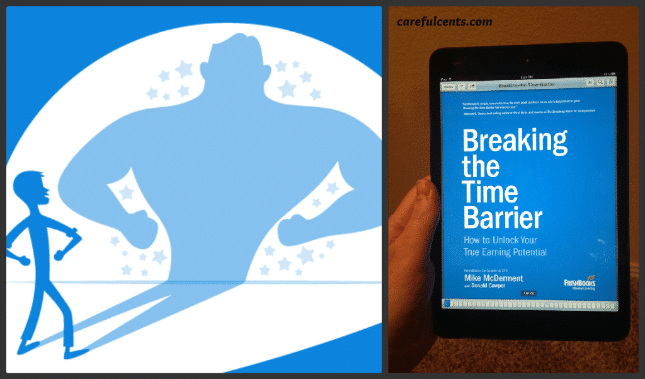 Review of the Ebook: Breaking the time barrier by Freshbooks CEO