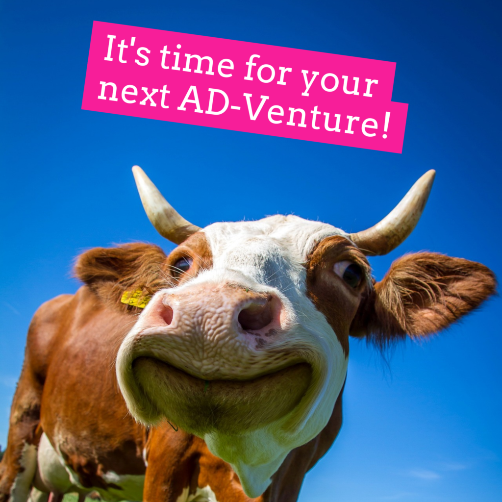 It's Time To Start Your AD-Venture!